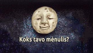 Mėnulis pagal gimimo datą