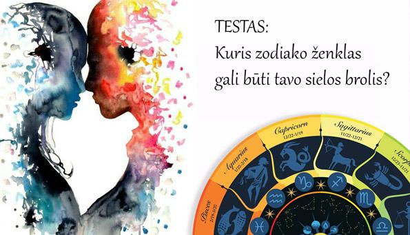 Testas: Sielos draugas pagal zodiaką