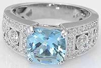 sužadėtuvių žiedas (pusbrangis akmuo)