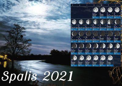Spalis 2021